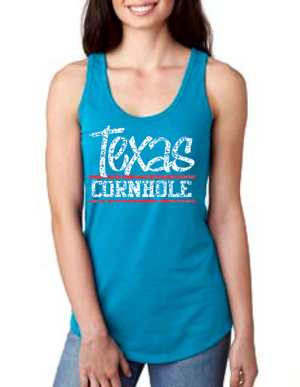 Ladies Texas Cornhole Tank