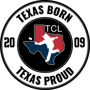 TCL - Texas Born Decal