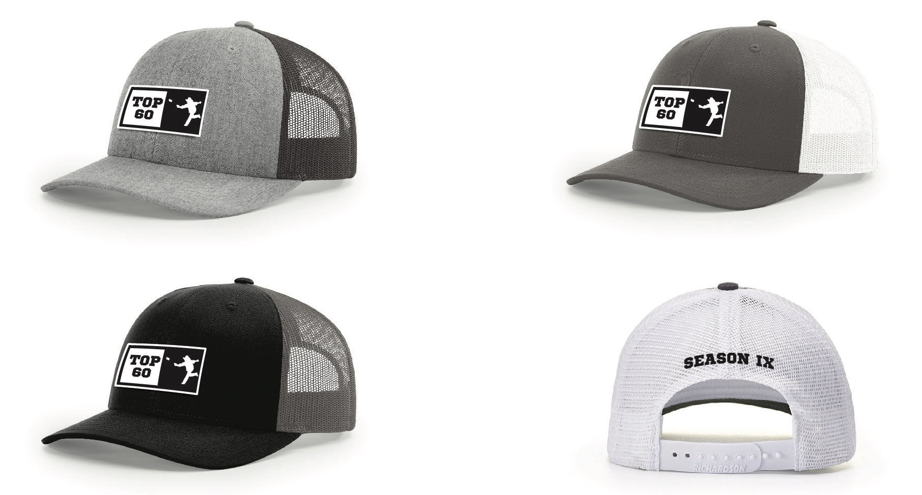 Top 60 - Richardson 115 Trucker Hat