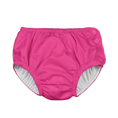 Hot Pink Reusable Absorbent Swim Diaper
