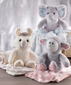 Lil Llama Plush Toy & Blanket Set