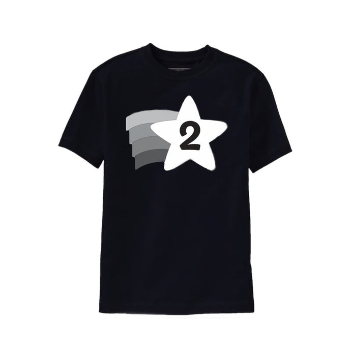 Shooting Star 2nd Birthday Tee