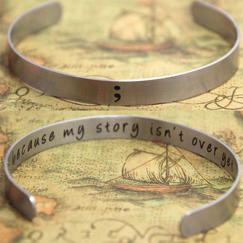 """FREE"" Your Story Isn't Over Yet Bracelet"