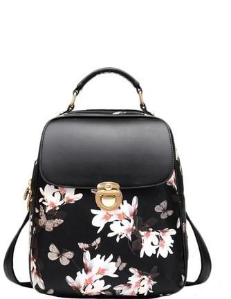 Floral Butterfly Backpack