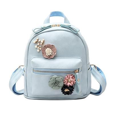 Cute Style Floral Backpack