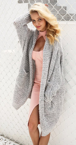 Knitted Long Sweater