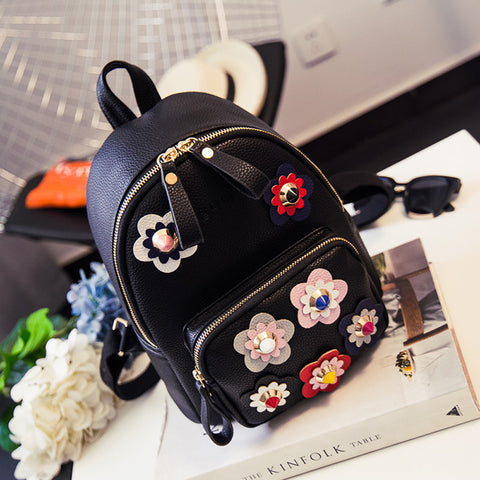 Chick Floral Backpack