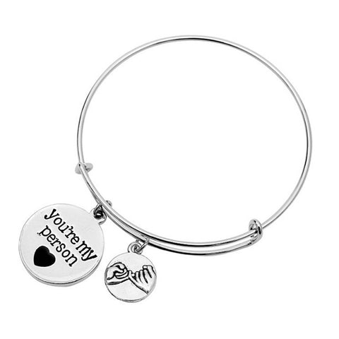 """You're My Person"" Bracelet"