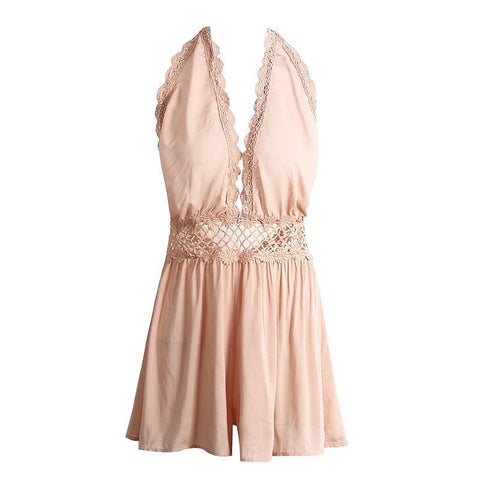 Cute Hollow Out Romper