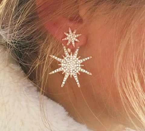 Double Star Earing