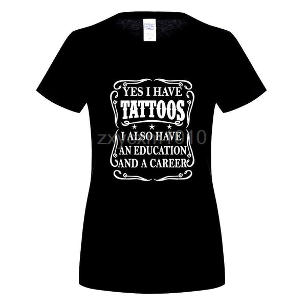 Yes I have Tattoos T-shirt