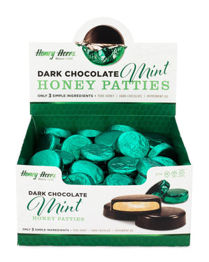 Dark Chocolate Mint Honey Patties