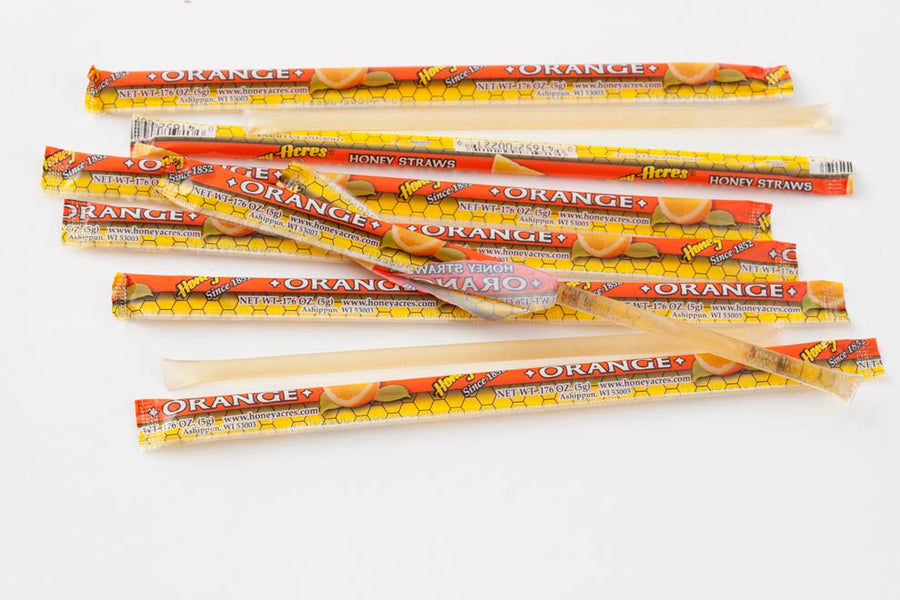 Honey Straws - 500ct Bulk Box