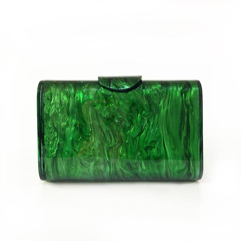 Green Acrylic Interior Mirror Bag acrylic bag God's Gift London