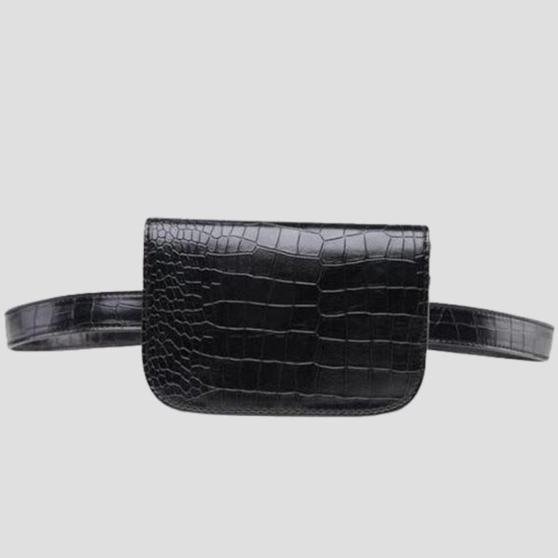 PU Croc Pattern Belt Bag Belt Bags God's Gift London
