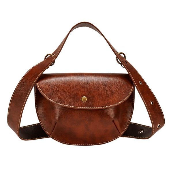 Saddle Belt Bag Belt Bags God's Gift London Brown
