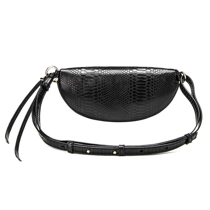 Snake Pattern Belt Bag