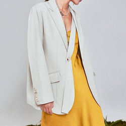 LIGHT Cream BLAZER Blazer God's Gift London