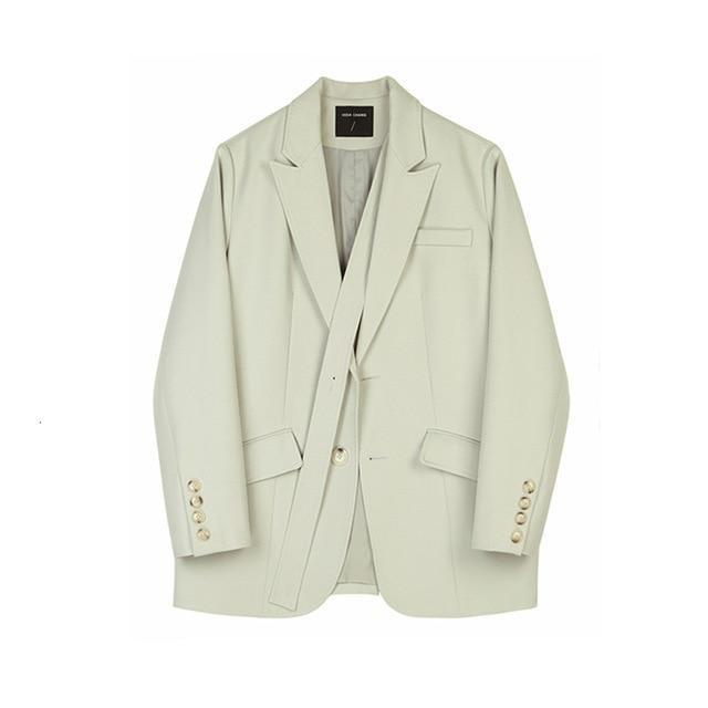LIGHT Cream BLAZER Blazer God's Gift London M