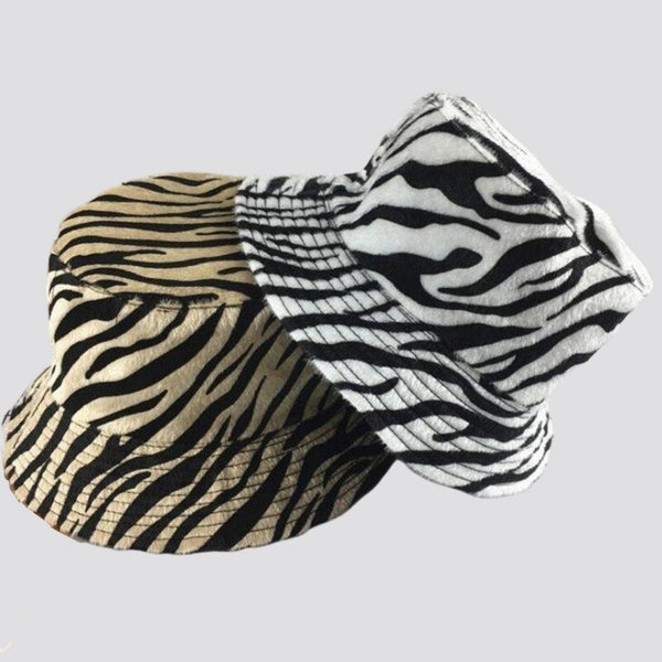 Zebra Print Bucket Hat Bucket Hat God's Gift London