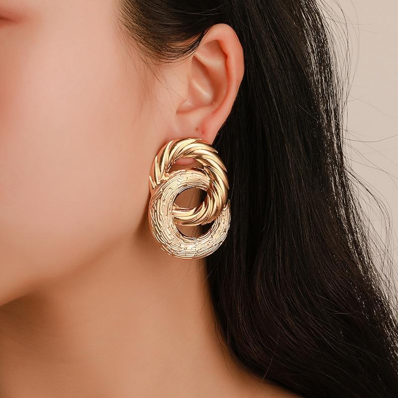 Double Twist Earrings earring God's Gift London