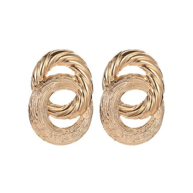 Double Twist Earrings earring God's Gift London E01275