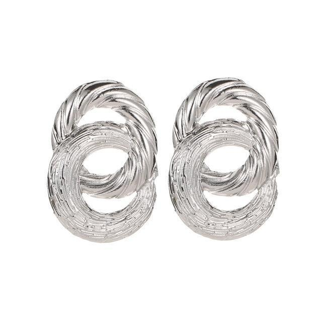Double Twist Earrings earring God's Gift London E01276