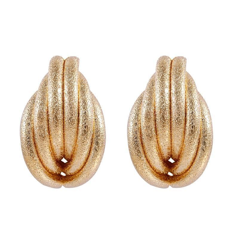 Frosty Shell Earrings