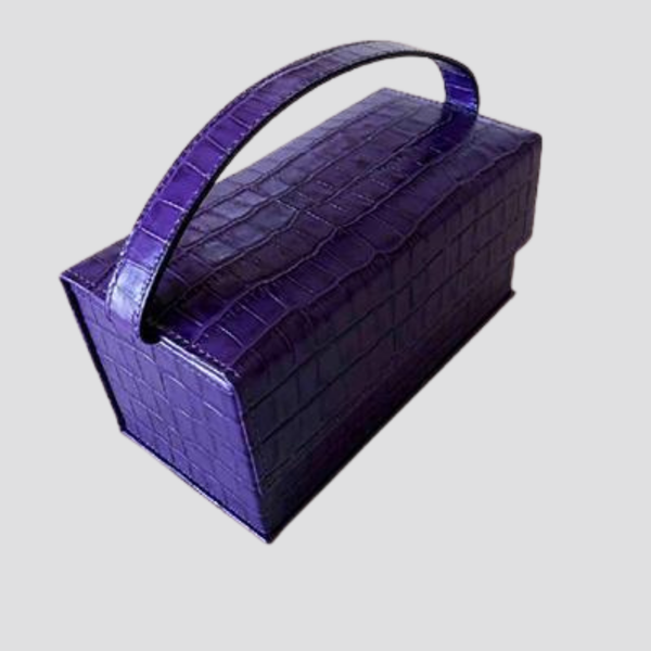 Acrylic Handle Flip Box Bag Handbag God's Gift London