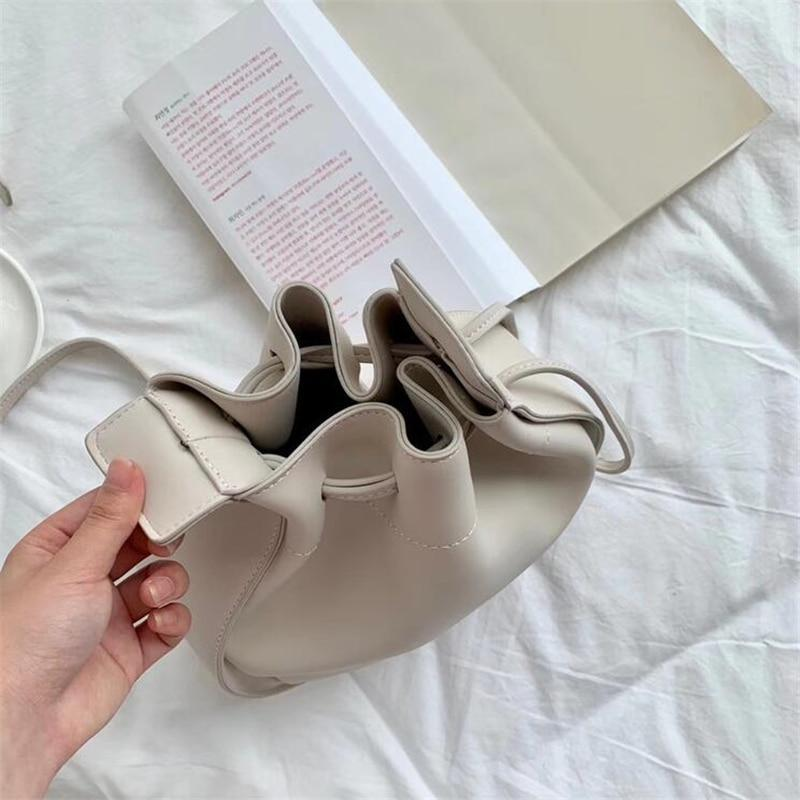 Saddle PU Leather Bag