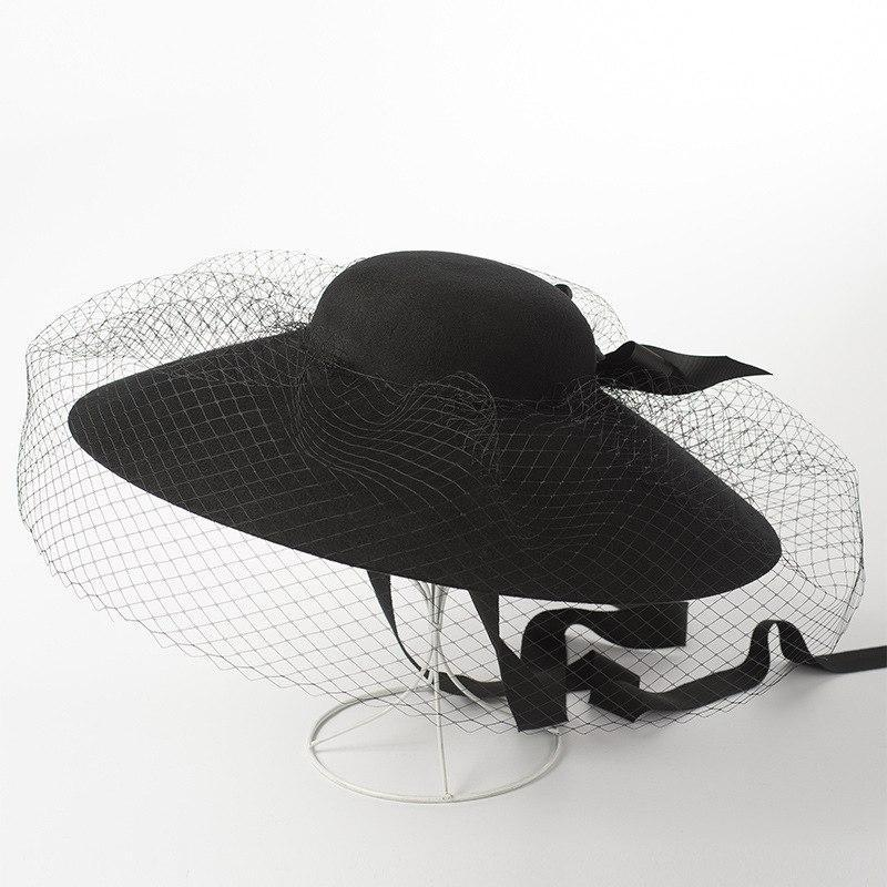Dish Hat with Net/Mesh