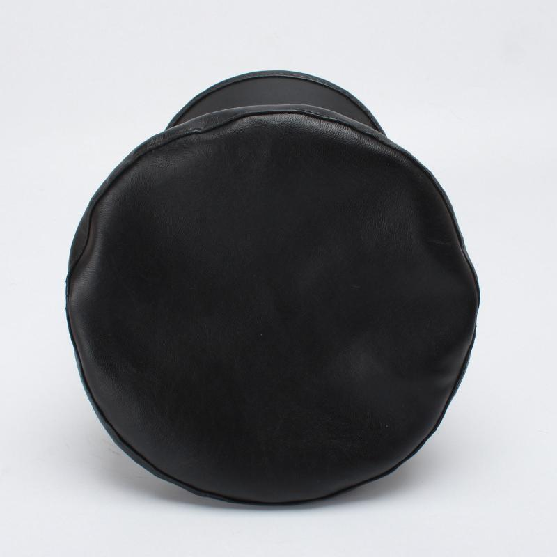 PU Military Hat - Black