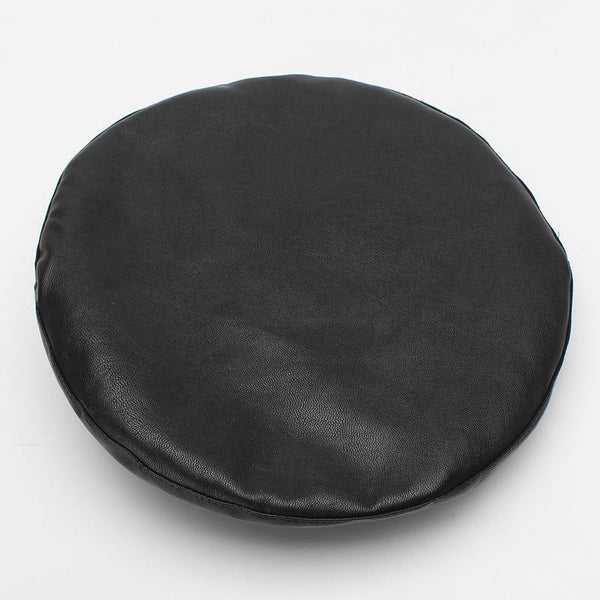 Soft Faux Leather Beret - Black