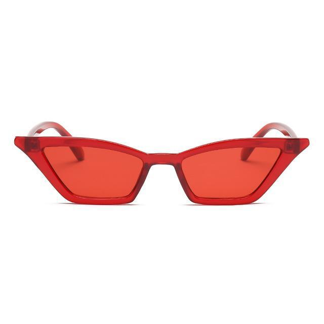 Megan Sunglasses Mini God's Gift London Clear Red