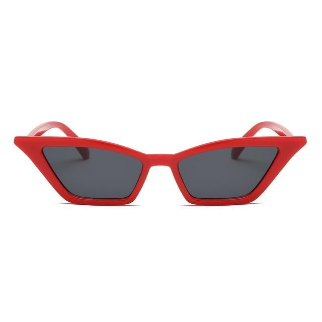 Megan Sunglasses Mini God's Gift London Red Frame Black