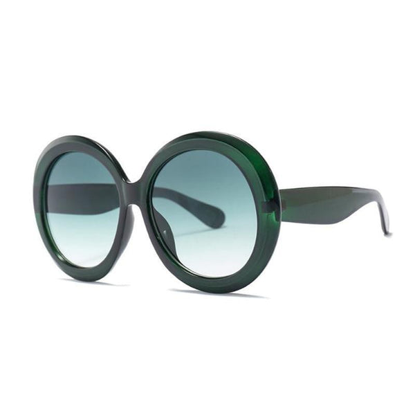 Layla Sunglasses oversized God's Gift London Green