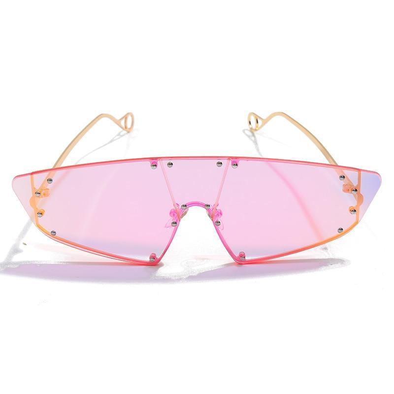 Jamiee Sunglasses Sporty Frames God's Gift London Pink