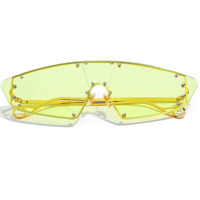 Jamiee Sunglasses Sporty Frames God's Gift London Yellow