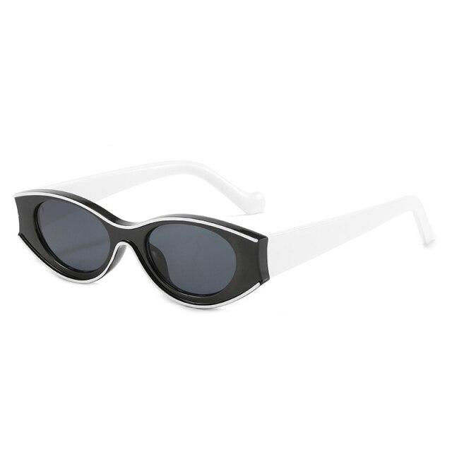 BRIELLE SUNGLASSES Sunglasses God's Gift London Black White / China