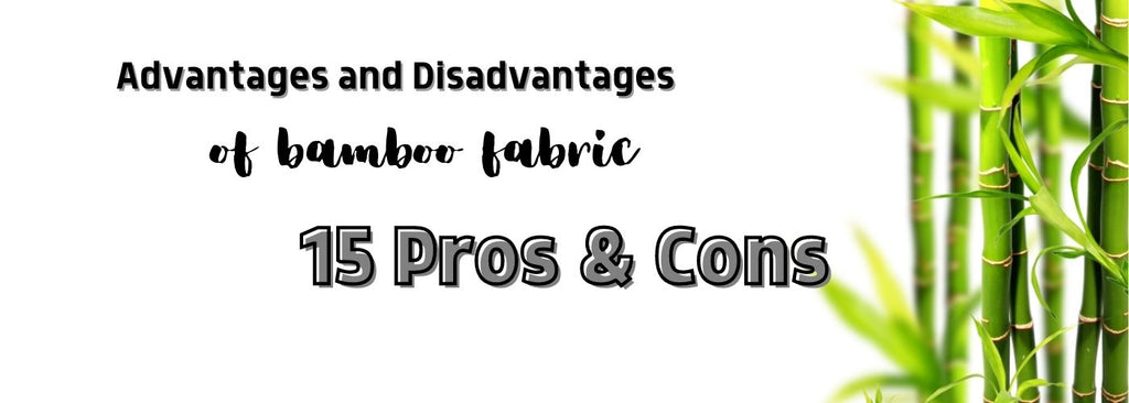 advantages and disadvantages of bamboo