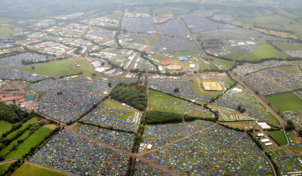 Glastonbury festival advice