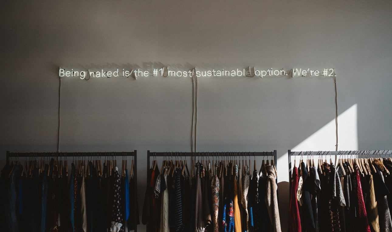 Being naked is the most sustainable option