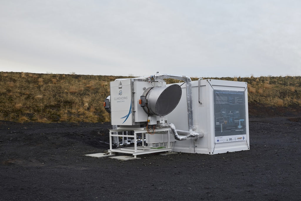 Direct air capture Iceland helps to reduce global warming