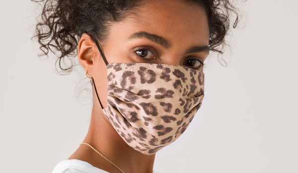 Hush patterned ethical face covering