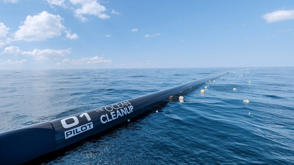 Ocean plastic cleanup project