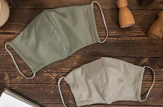 The Simple Folk 5 best organic cotton face coverings