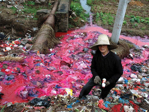 Water Pollution from Clothing Dyes