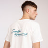 Men's 80's White Organic Cotton T-Shirt
