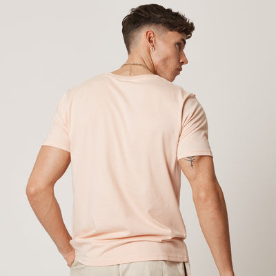 Mens Pink Organic Cotton Suck It Lemon T-shirt