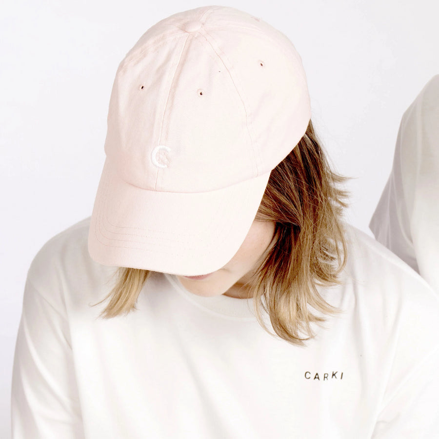Women's Pink Unstructured Cap